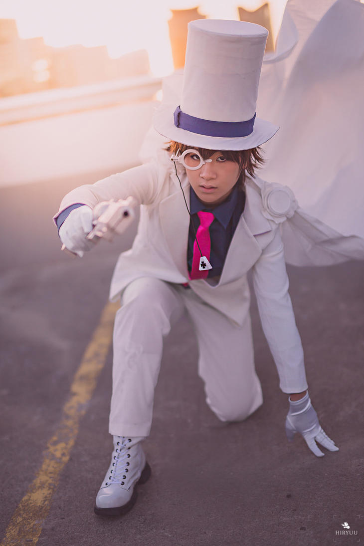 Kaitou Kid by 2greenia