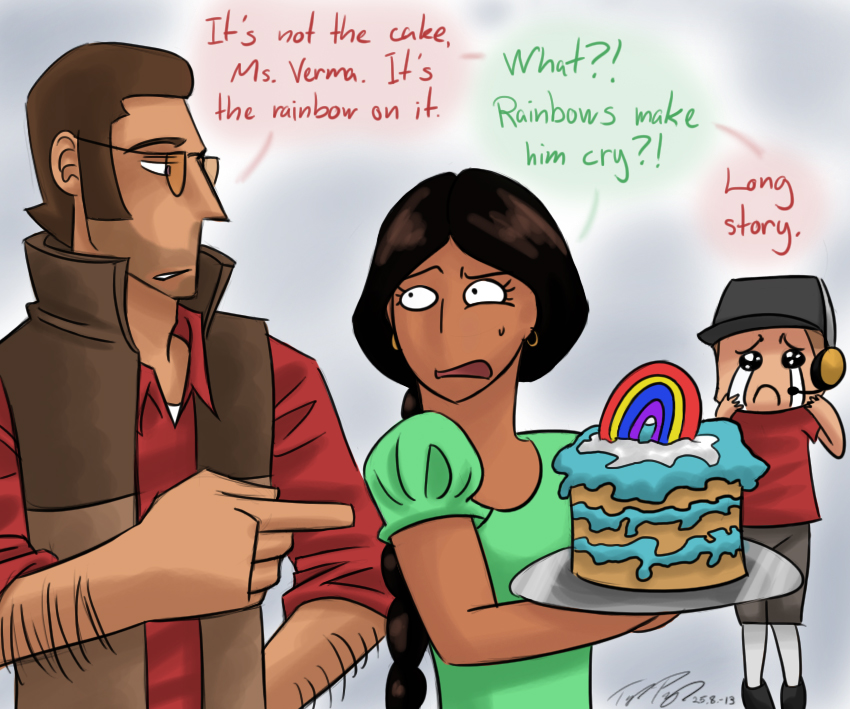 REQUEST Birthday cake by Kirame90 on DeviantArt – Tf2 Birthday Card
