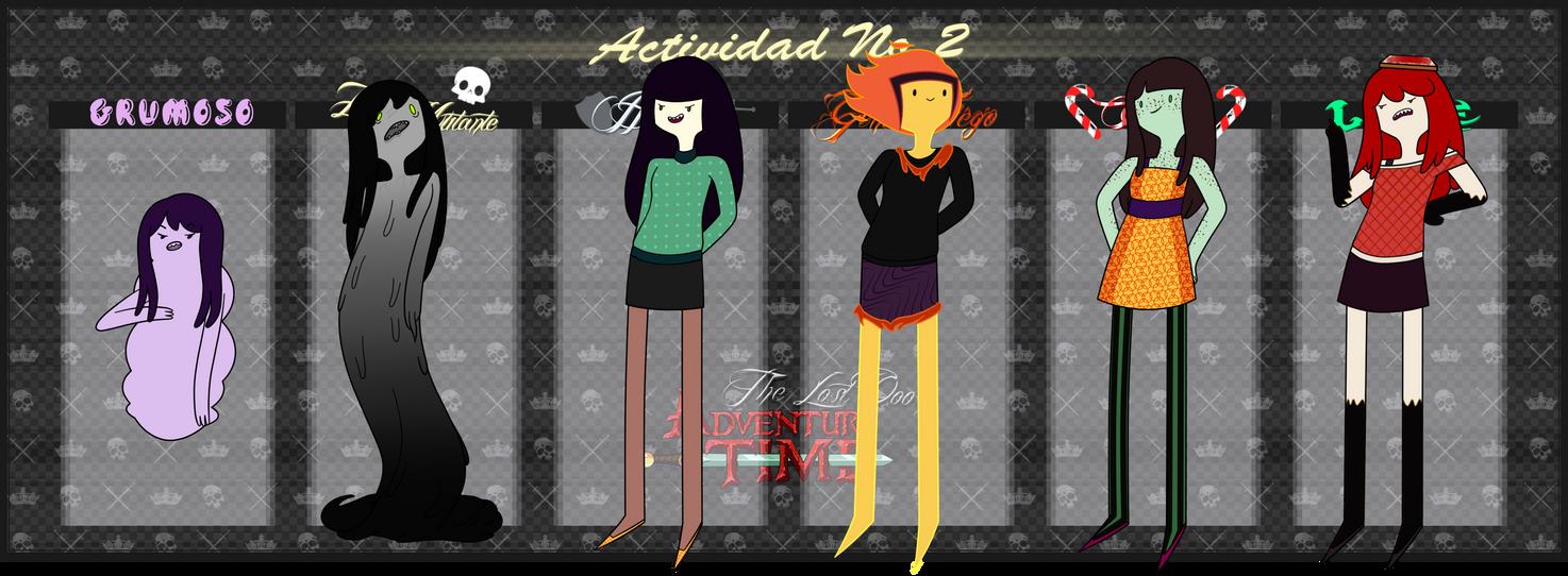 TLOoo Actividad 2: Nocturna by YashaDeTrancy