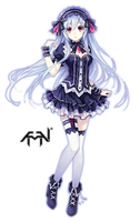 Fairy Fencer F-Render1 by AMAN by 96sotl