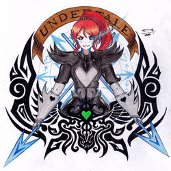 Undyne The Undying X Ayase Eli