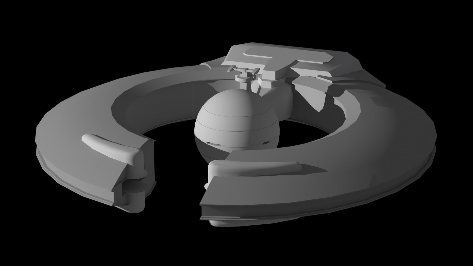 Lucrehulk-class Battleship by Morthon