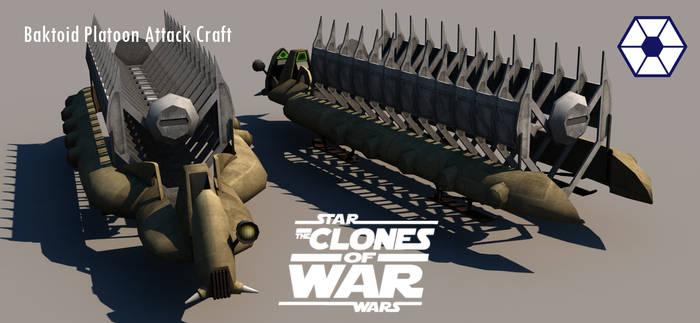 Trade Federation Platoon Attack Craft