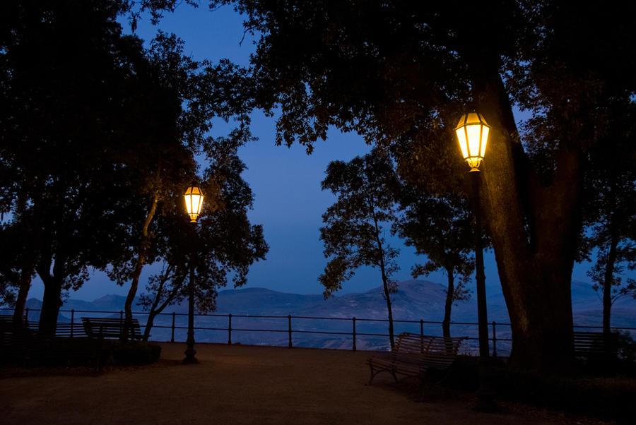 two lights by marcobusoni