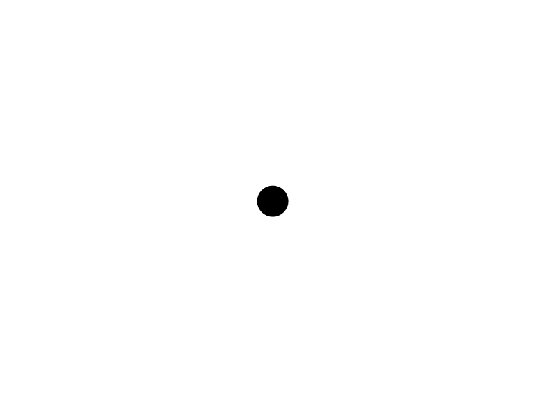 Image result for white background with black dot