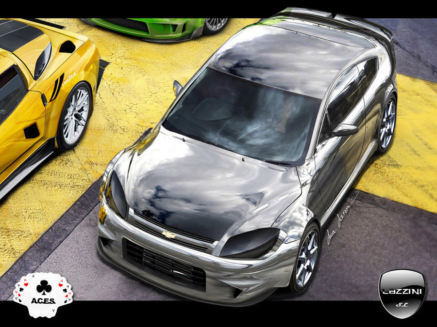 Chevrolet Cobalt SS Chromed by LazziTuning