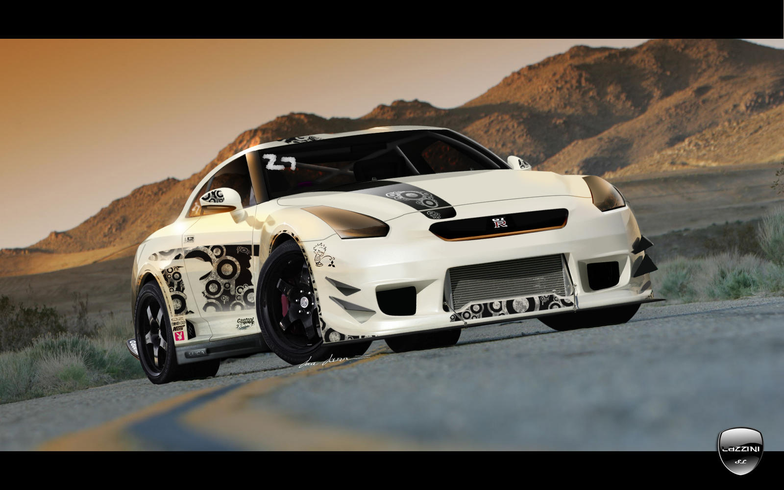 Nissan GTR Race Wars by LazziTuning