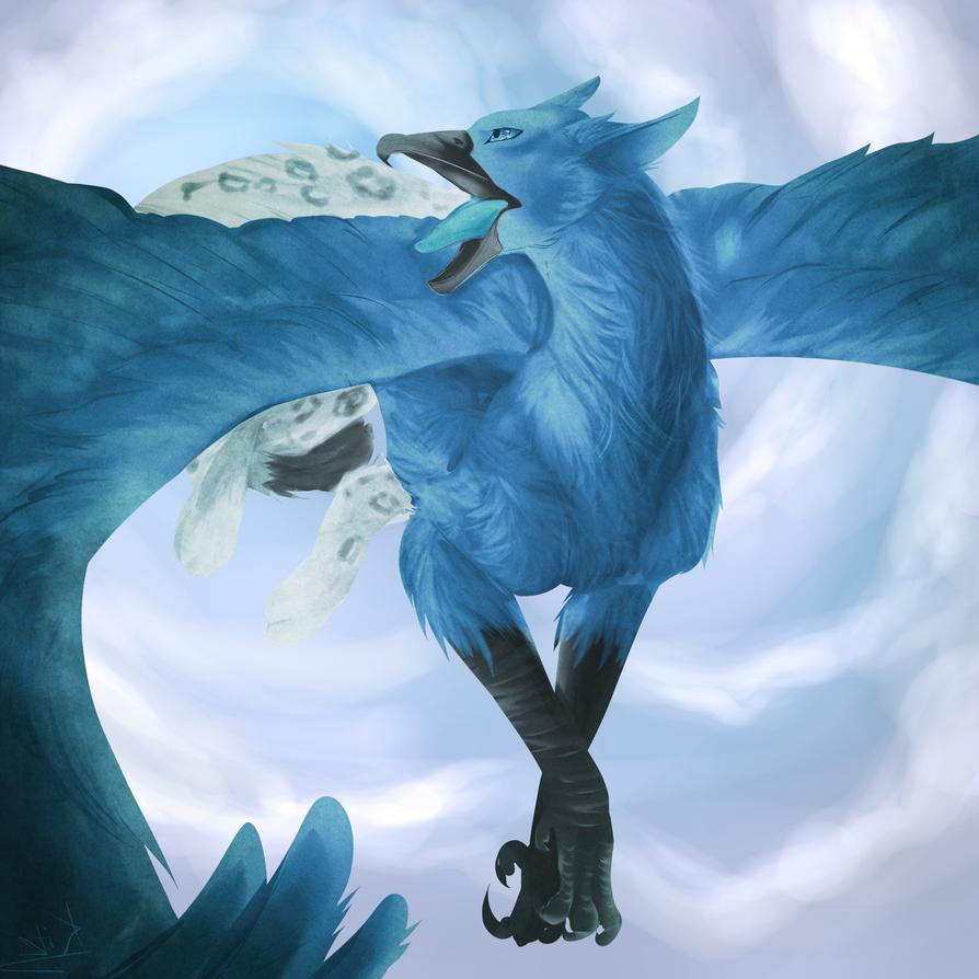 Bluebird by GreyeWolf