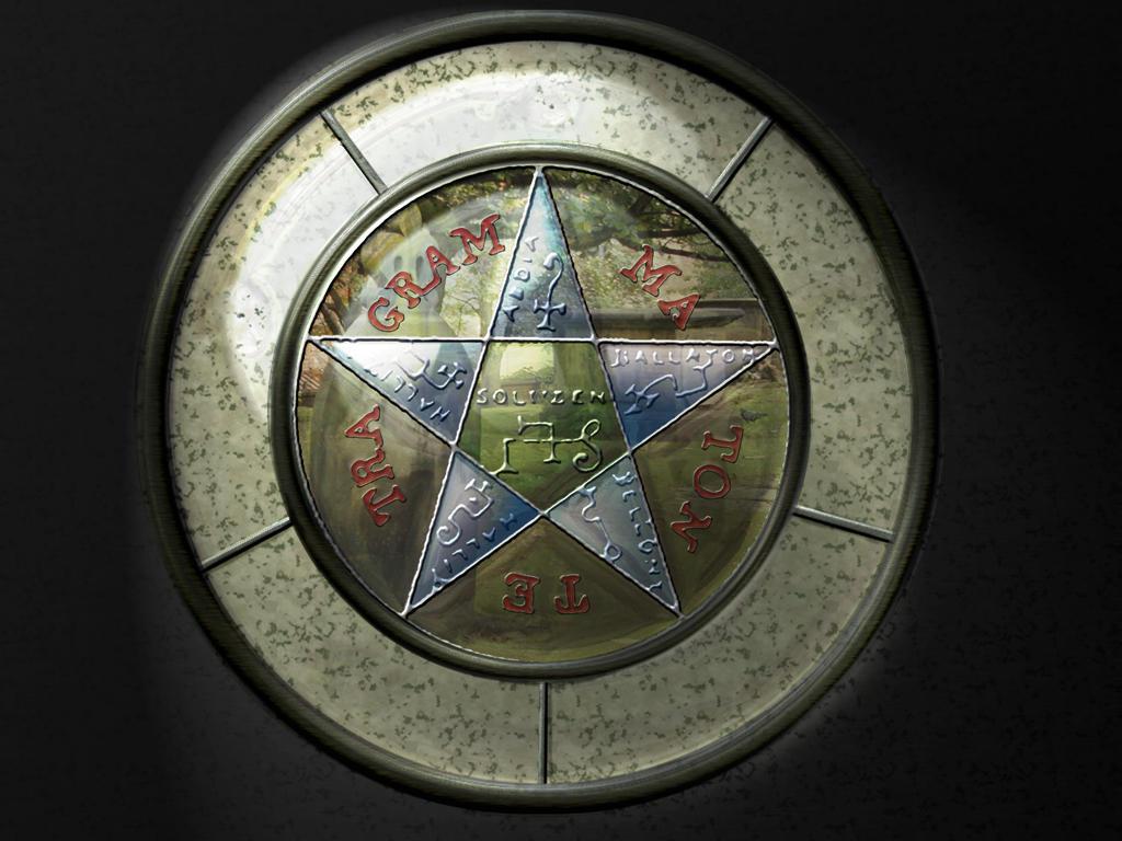 King Solomon's Pentagram by jackdirt