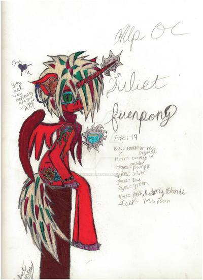 Juliet FuenPony by SCOURGESBABE