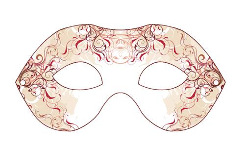 Carneval mask PRINT SIZE + PSD by weberica