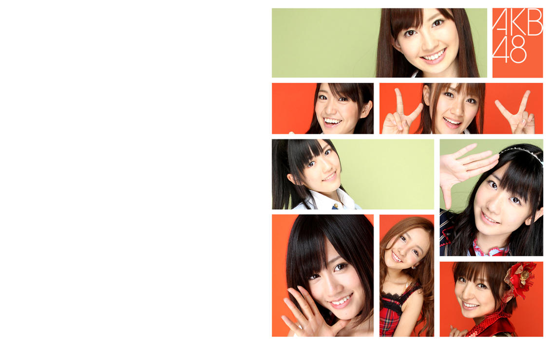 AKB48 Wallpaper - 2011 Top 8 by yic
