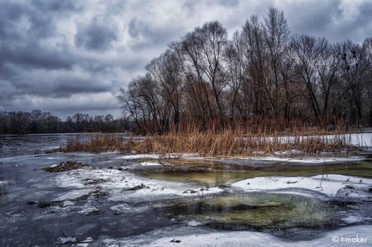 River in January