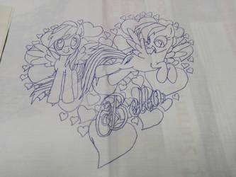 Wip 1 - Rainbow Dash Pillowcase