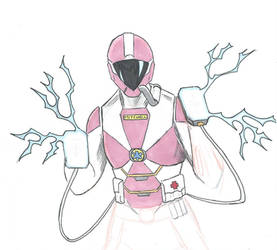 Lightspeed Rescue Pink Ranger by Willpower14