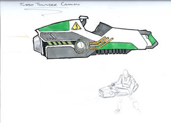 Turbo Thunder Cannon by Willpower14