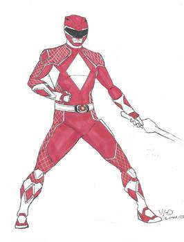 MMPR Red Ranger redesign