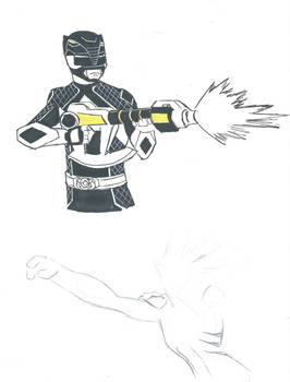 MMPR Black Ranger redesign