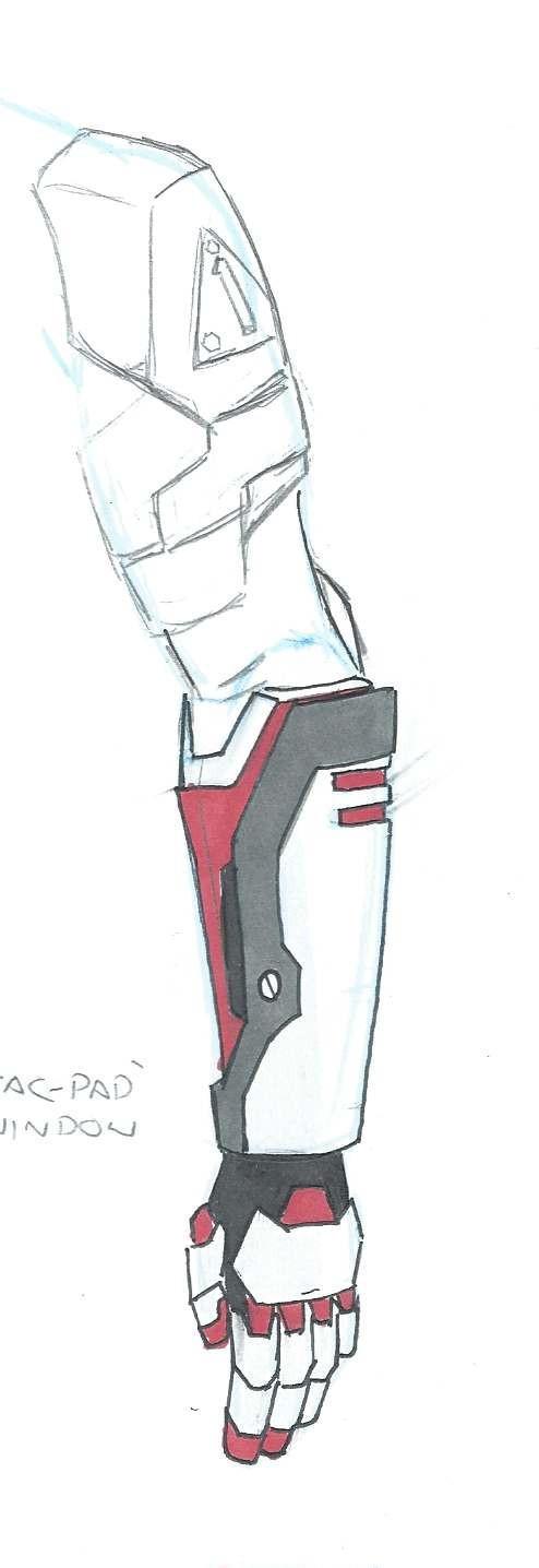 Turbo arm design