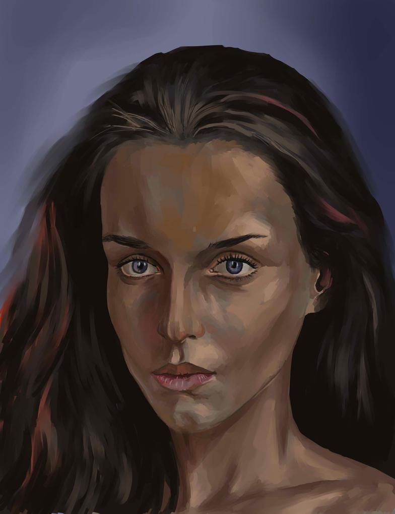 some random portrait by pprimuss