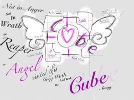 Companion cube by Mathota