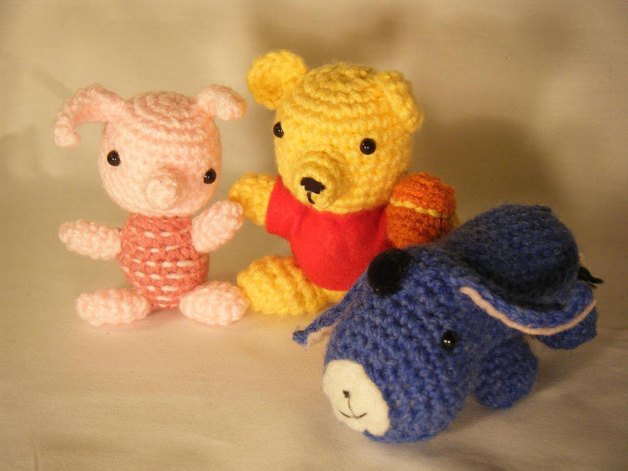 Piglet Amigurumi Free Pattern : Amigurumi animals for beginners ~ slugom for .