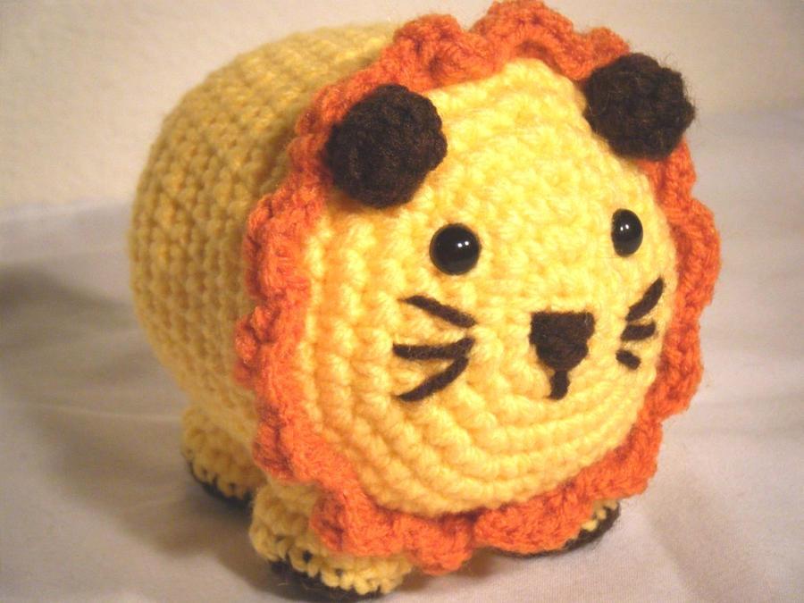 Amigurumi Lion Free Pattern : Round lion amigurumi custom by chibisayurietsy on deviantart