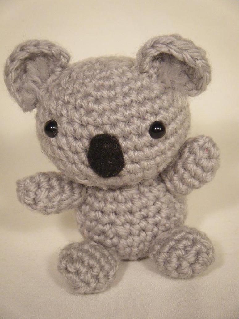 Tiny Koala Bear Amigurumi by ChibiSayuriEtsy on deviantART