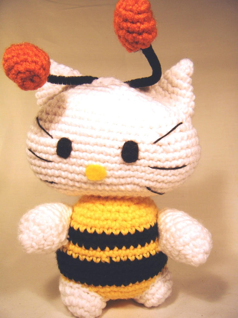 Crochet Pattern Minnie Mouse Doll : Hello Kitty Bumblebee Crochet Doll by ChibiSayuriEtsy on ...