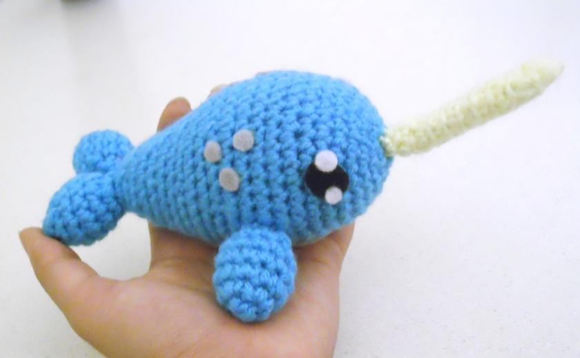 Crochet Amigurumi Narwhal : Narwhal Amigurumi Doll Custom by ChibiSayuriEtsy on DeviantArt