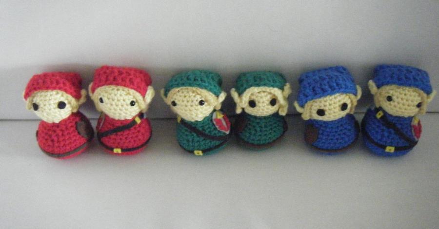 Amigurumi Chibi Doll : Link from legend of zelda amigurumi dolls by chibisayurietsy on