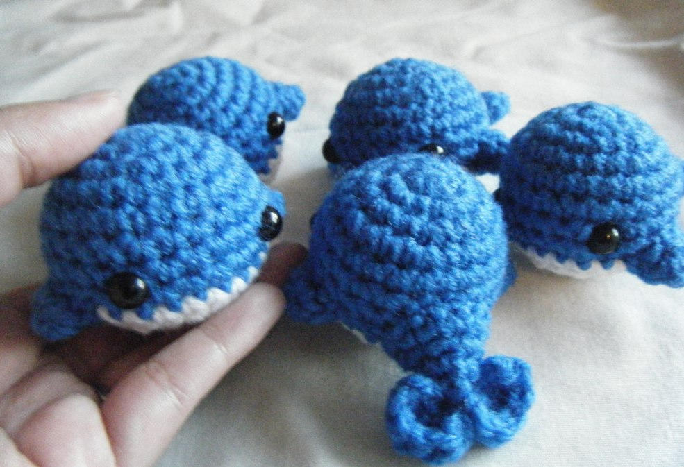 Amigurumi Christmas Ornaments Patterns : Blue Whale Amigurumi1 by ChibiSayuriEtsy on deviantART