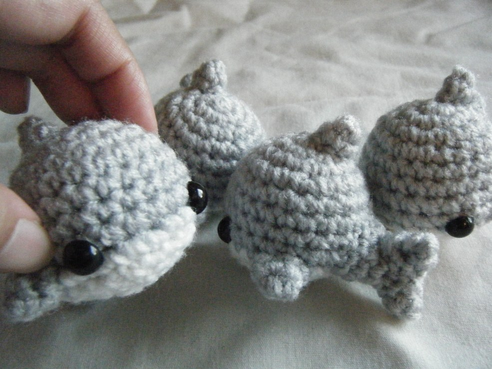 how to crochet baby shark | 739x985
