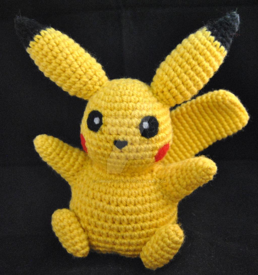 Pikachu Pokemon Inspired Amigurumi 1 by ChibiSayuriEtsy on DeviantArt