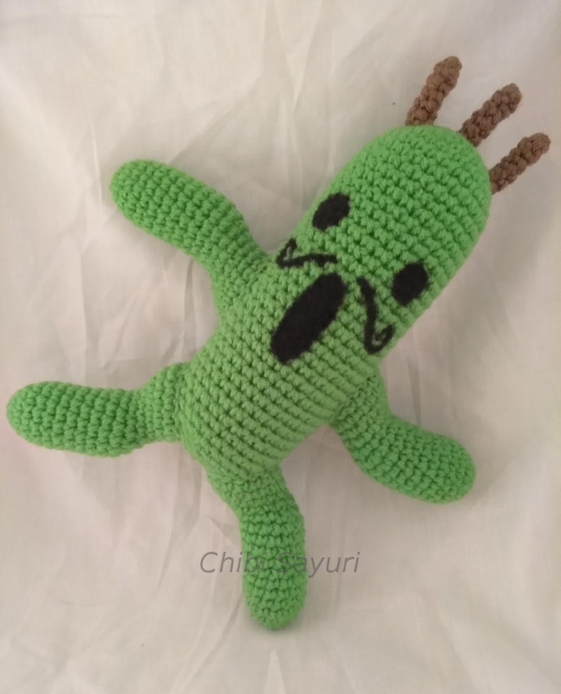 Gigantuar Cactuar FF Monster Inspired Amigurumi by ChibiSayuriEtsy
