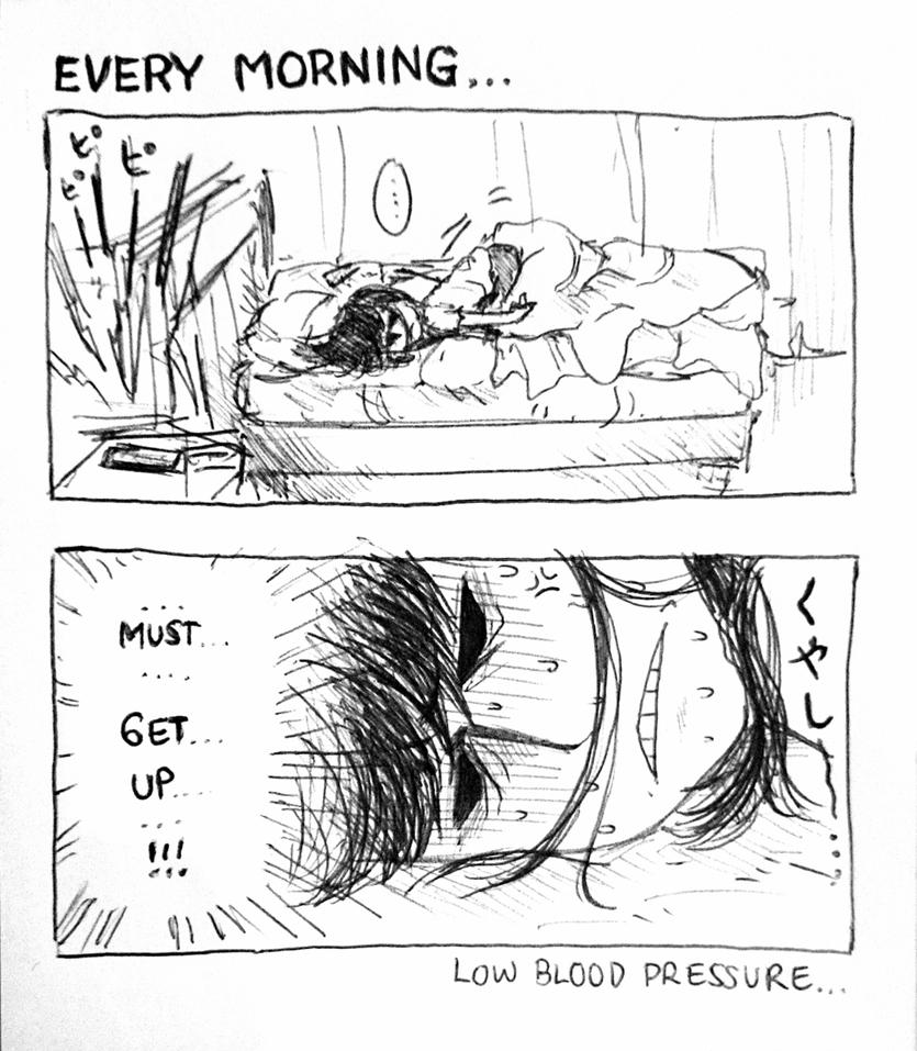 my morning routine by WnD-HYDE