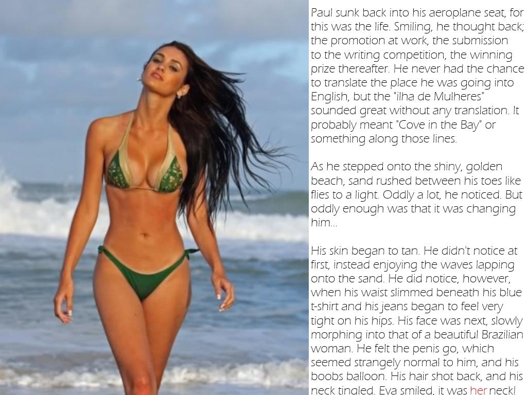 tg bikini stories beach