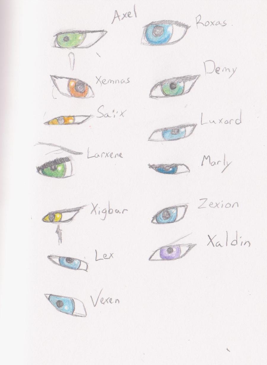 Organization eyes by Akiralios