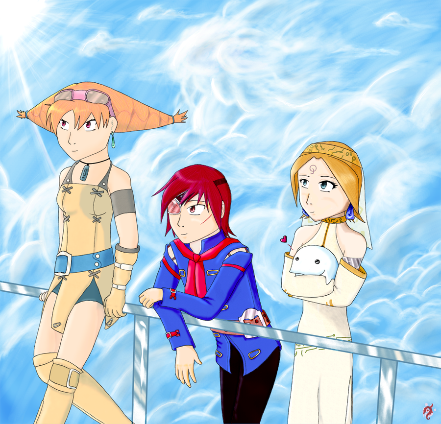 DragonPaw: Skies of Arcadia by Akiralios