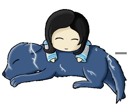 Fluffy Pillow -Chibi- by Akiralios