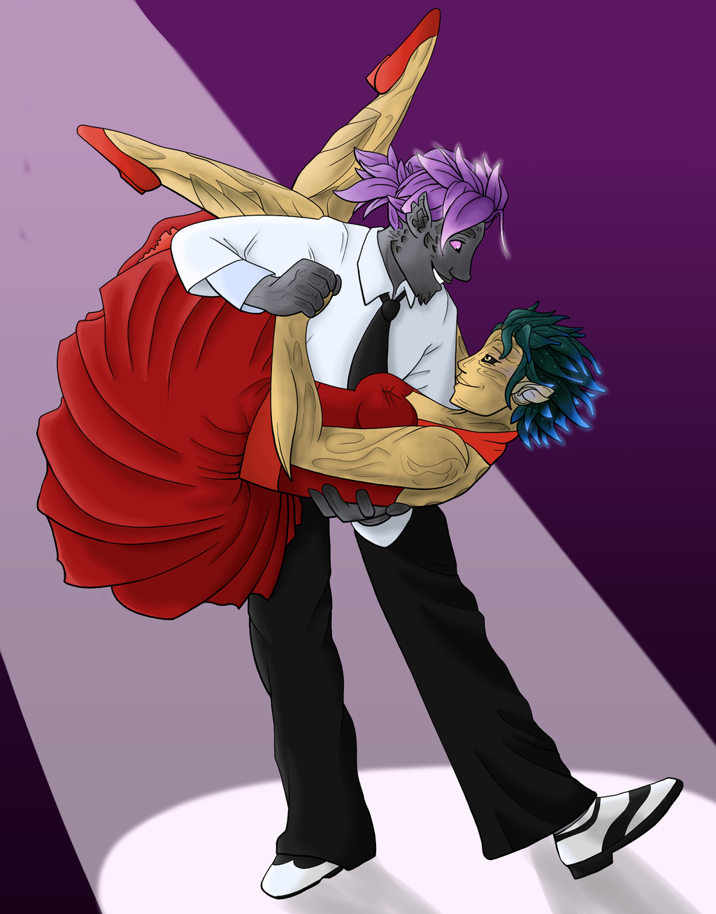 Sylvari Swing by Akiralios