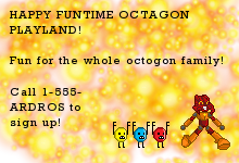 HAPPY FUNTIME OCTOGON PLAYLAND by Matoro62