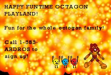 HAPPY FUNTIME OCTOGON PLAYLAND by Matoro62