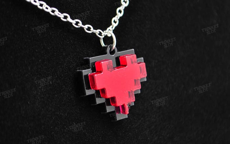 how to make a pixel heart