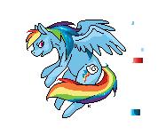 Rainbow Dash .WIP. by QueenKami