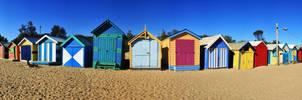 Panorama--Brighton Beach