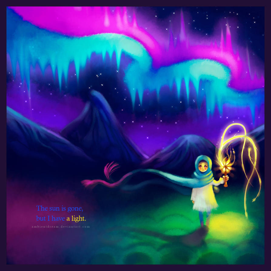 aurora borealis by ambientdream