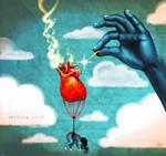 the heart balloon
