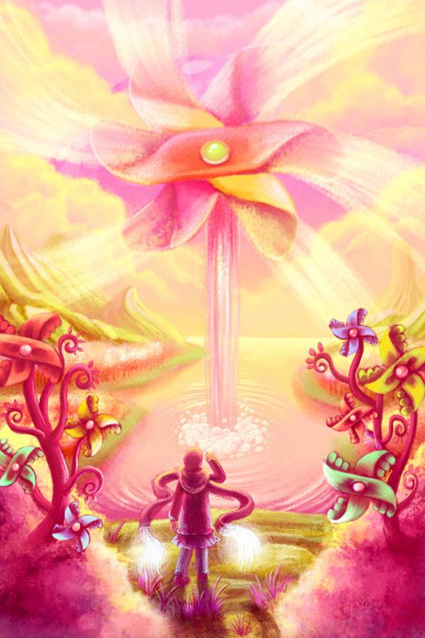 pinwheel land by ambientdream