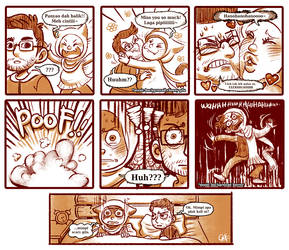 Anyaomiao comic : sayang sampai melekat